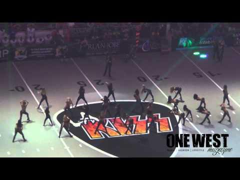 LA KISS Girls Jr. Dancers Performing 6-7-15 @ Kiss Vs Thunder