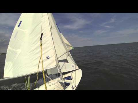 420 Spinnaker with Trapeze