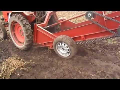 Картофелекопалка к трактору т 40
