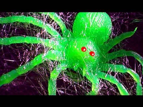 Spiderman Halloween Cobweb Gun  - Simple Build