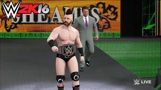 Roman Reigns vs. Sheamus - WWE World Heavyweight Championship Match: Raw,WWE 2K16 Simulation