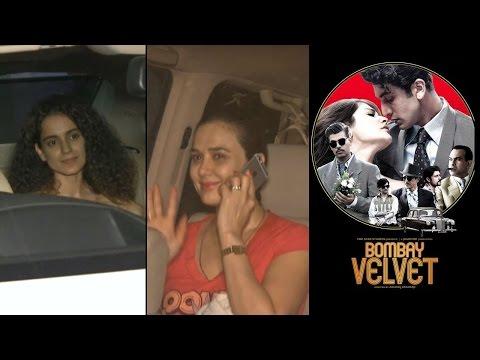 Kangana, Preity Zinta watch 'Bombay Velvet'