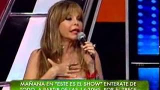 Showmatch 2010 - Marcelo se enojó con Reina Reech