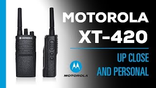 Why Is A Business Walkie-Talkie So Expensive? | Motorola XT420