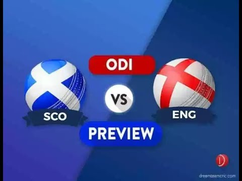SCO VS ENG DREAM11 PREDICTION ODI MATCH | SCOTLAND VS ENGLAND PLAYING 11