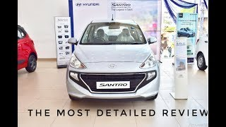 Hyundai Santro Sportz 2019 Start Up, Exhaust, and In Depth Review | Carlines