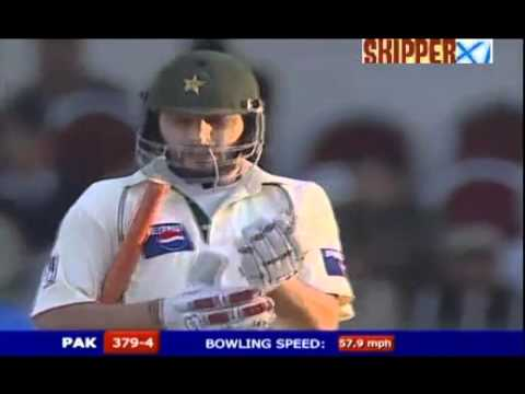 Shahid Afridi 156 Off 78 Balls (9 Sixes & 13 Fours) In Test Match Vs India (2005) video