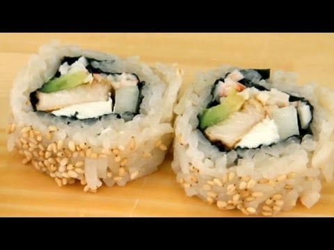 0 How To Make Chicken Teriyaki Sushi Rolls
