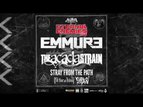 EMMURE - Eternal Enemies Tour (Trailer #2)