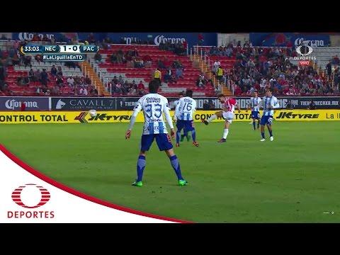 Gol de Luis Gallegos | Necaxa 1 - 0 Pachuca | Cuartos de Final | Televisa Deportes