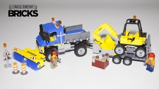 Lego City 60152 Sweeper and Excavator Speed Build