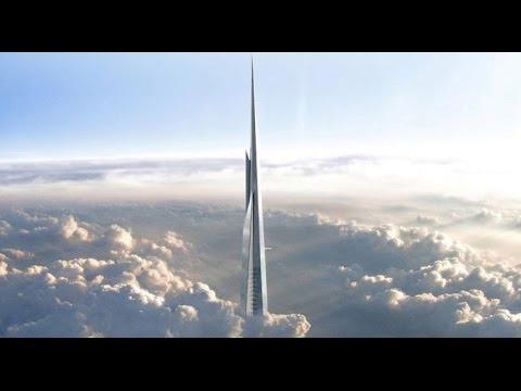 Kingdom/Jeddah Tower- World's Tallest Building- 1Km+ Tall Building!