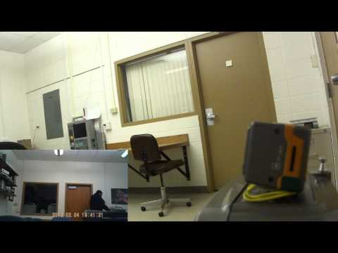 Motion Sensing Video Surveillance Using Arduino Uno, Laser Trip Wire and PIR Sensors