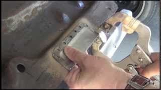 Metal patching without welding equipment