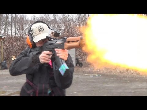 Shooting the Century Arms M92 PAP AK Pistol With Arm Brace