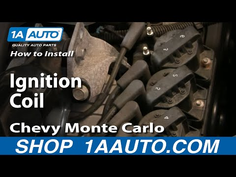 How To Install Replace Ignition Coil GM 3800 3.8L Grand Prix Monte Carlo Impala