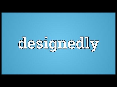 Header of designedly