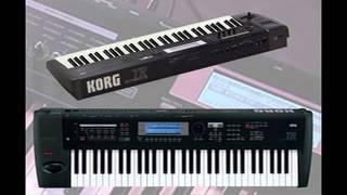 Korg TR61 Bank B factory sounds