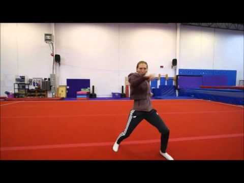 Goh Cho Kun Kung Fu work out segment