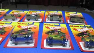 Hot Wheels The Hot Ones ( Retro) 2012