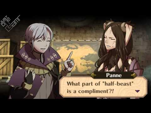 Fire Emblem Awakening - Henry & Panne Support Conversations