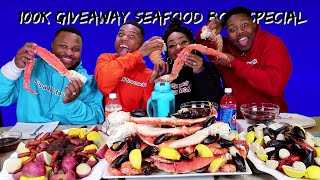 download lagu Epic Seafood Boil 100k Giveaway Special 25lbs Of Seafood gratis