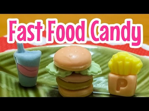 Fast Food Candy (1 of 6) ~ つくるガブリチュウ・ファーストフードシリーズ