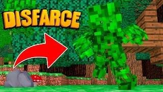 Minecraft: DISFARCE DE FOLHA - (Esconde-Esconde)