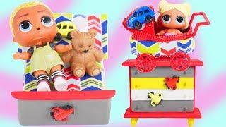 LOL Surprise FAKE Barbie Boys Custom Bedroom with pets Goals Diaries Episode