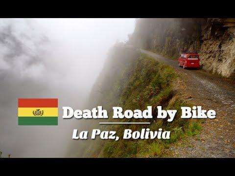 Biking down the Death Road in La Paz, Bolivia (Travel Videoblog 034)
