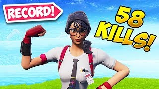 *NEW RECORD* 58 KILLS IN SOLOS! - Fortnite Funny Fails and WTF Moments! #463
