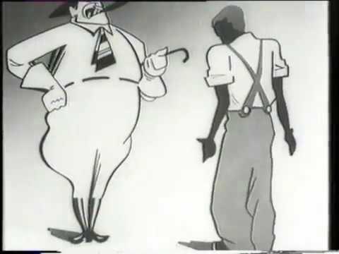 мультфильм Чёрное и белое, 1932 год, СССР
