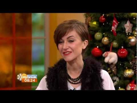 KATHERINE KELLY:- ITV DAYBREAK - 21Dec. 2012 -  Lady Mae