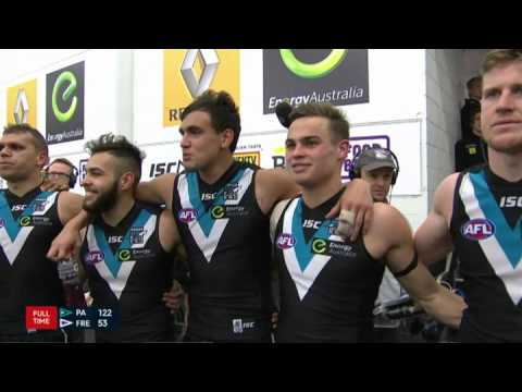 Port Adelaide team song - Round 23, 2015