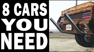 GTA 5 - 8 Cars You Need To Buy In GTA Online