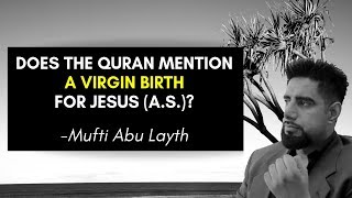 Video: Does the Quran insist on a Virgin Birth for Jesus? Early Christians did not believe it - Abu Layth