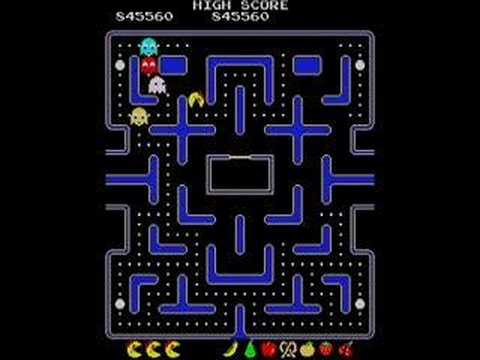 Last 4 levels of Ms. Pacman