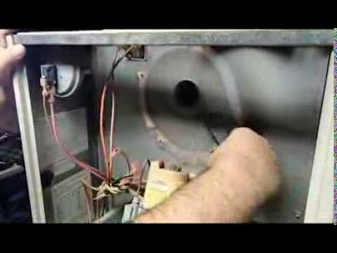 Inducer videolike for Lennox furnace blower motor noise