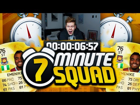 NEW FIFA CARD EMENIKE 7 MINUTE SQUAD BUILDER!! - FIFA 16 ULTIMATE TEAM