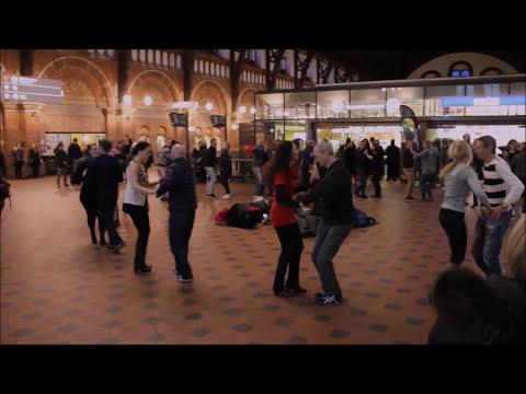 Salsa Rueda Flash Mob Copenhagen