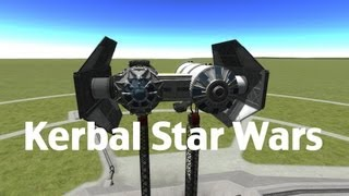 Kerbal Space Program - Ships From A Galaxy Far Far Away