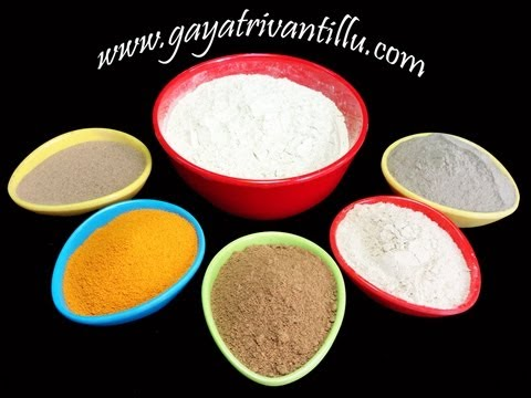 Sunni Pindi - Bathing Powder with Aromatic and Indian Medicinal Herbs - Gayatrivantillu