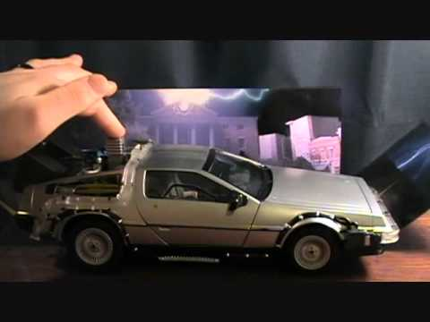 Back to the Future Part 2 1/15 Scale Delorean review