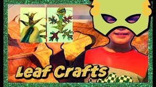 Leaf Tree Crafts🍂🍃 Kids Easy Crafts Creatures  [Sweetie Fella Aleks]