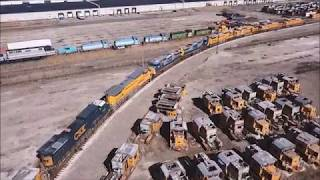 Ohio Commerce Center Lordstown Ohio a Drone Video