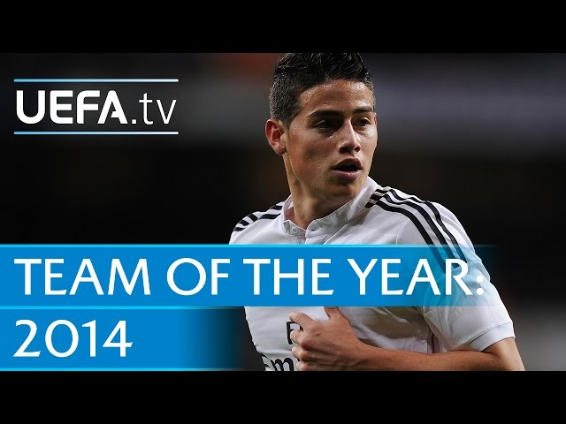 James Rodríguez: 2014 Team of the Year nominee