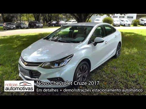Novo Chevrolet Cruze 2017 - Detalhes - NoticiasAutomotivas.com.br