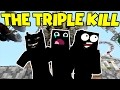 THE TRIPLE KILL !!! -|- Murder Mystery - Minecraft xbox
