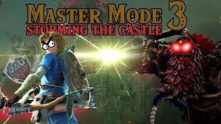 Storming the Castle! Pags's Breath of the Wild Master Mode Adventure PART 3!!