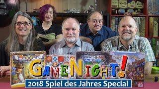 GameNight! 2018 Spiel des Jahres and Kennerspiel des Jahres Special